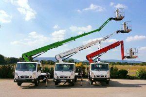21m autohoogwerker jib kleur 21 meter