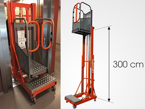 Compact-lift mast hoogwerker