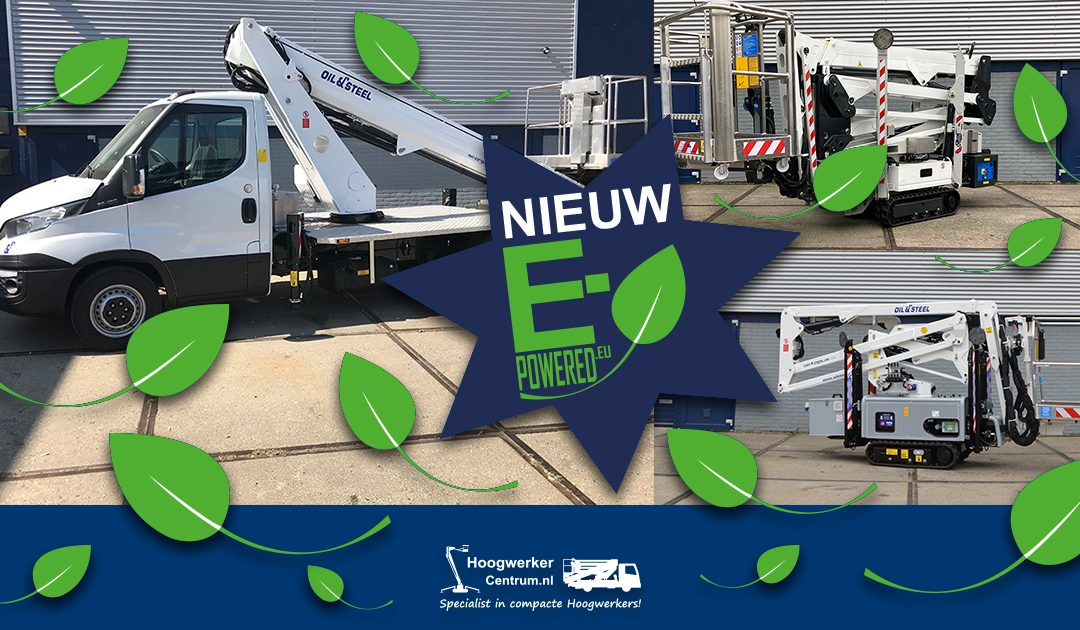 Duurzaamheid, onze e-powered range!